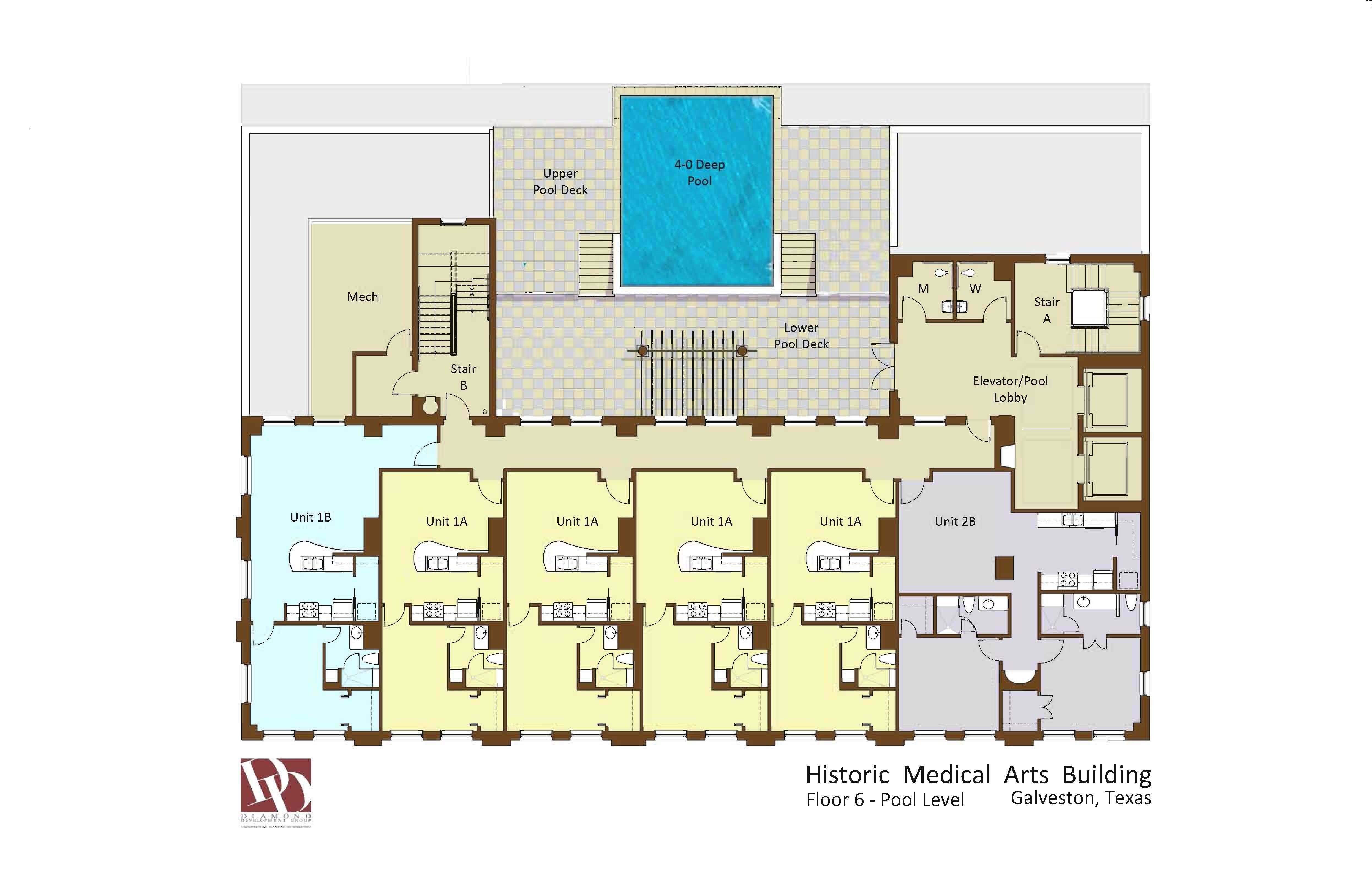 historic medical arts building residential floorplans